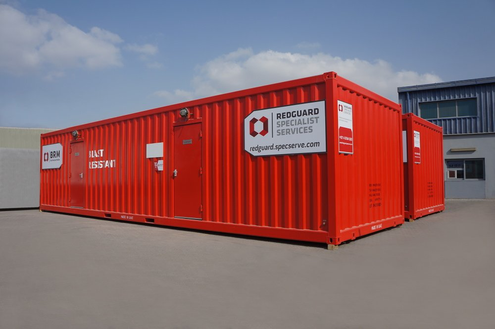 Specialist Services approved vendor for Blast Resistant Buildings