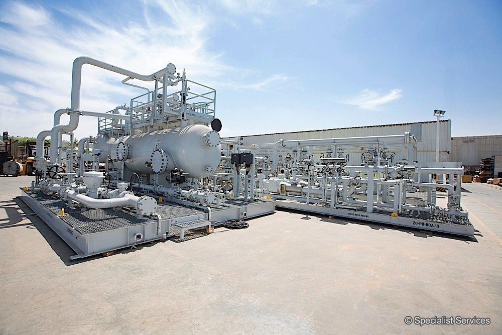 Crude Oil Production Facilities 01