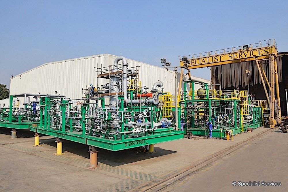 Gas Compression and Deh Facilities 01wm