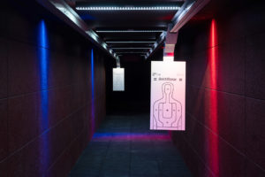 CoverSix Shooting Range Interior lighting