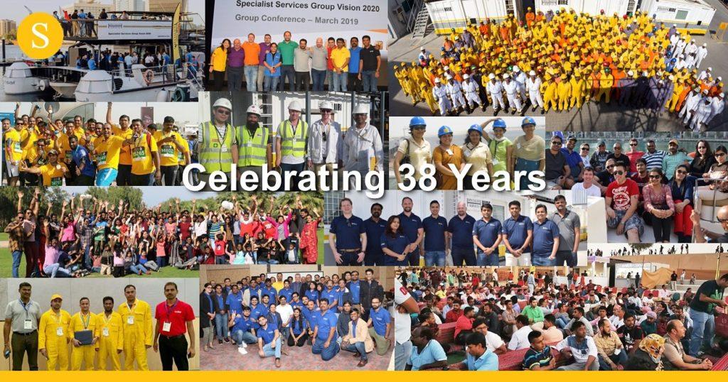 SSG celebrating 38 years