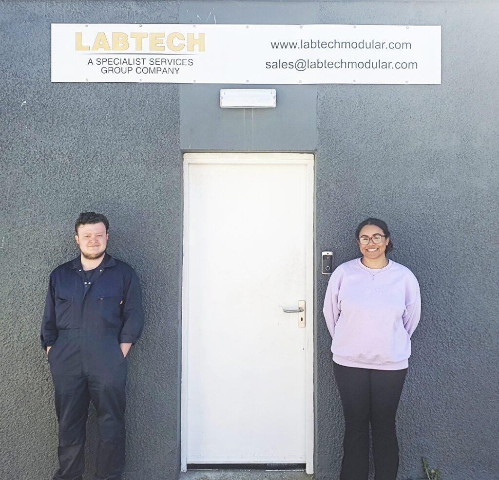 Labtech - UK Kickstart - Kieran and Micha